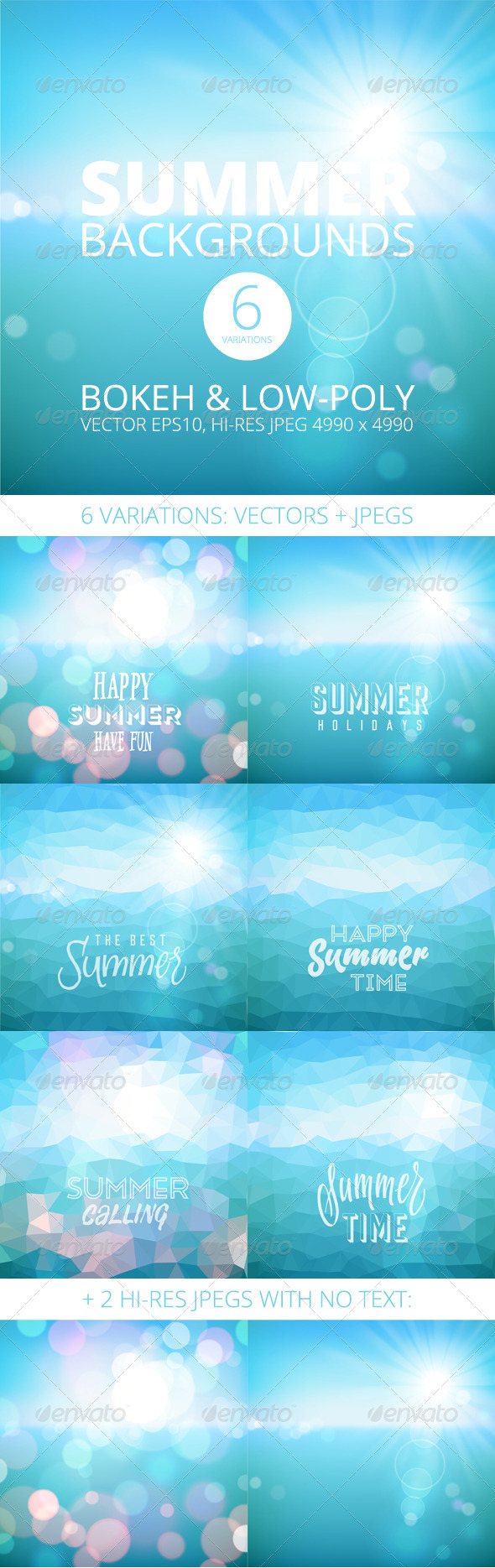 GraphicRiver Summer Holiday Tropical Beach Background 8273975