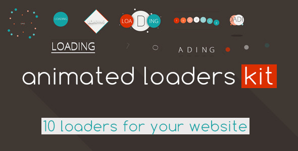 Animated Loaders KIT - CodeCanyon Item for Sale