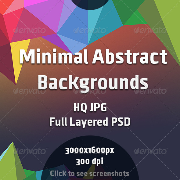 GraphicRiver Minimal Abstract Backgrounds 8274094