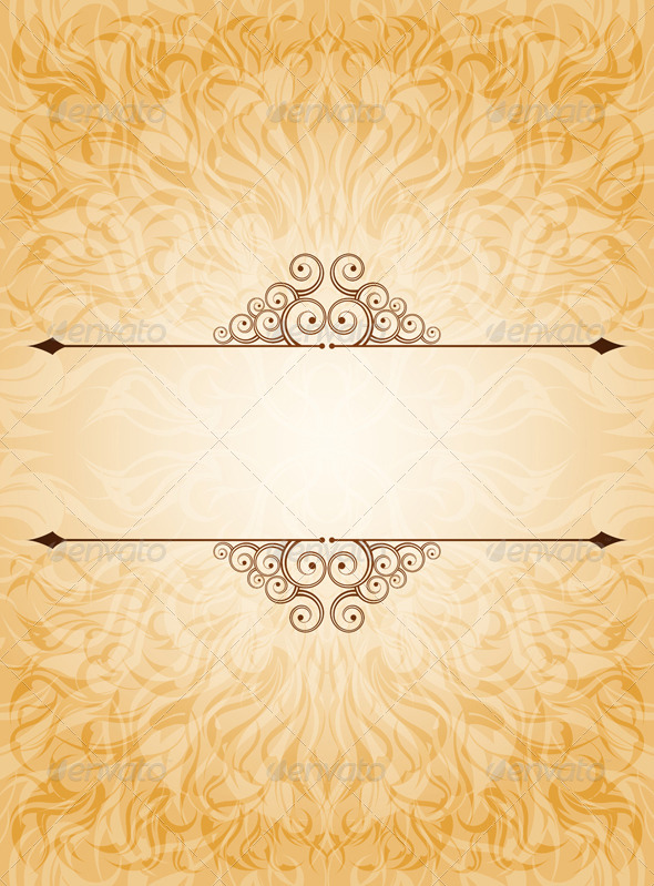 GraphicRiver Ornamented Background 8274364