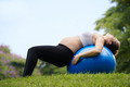 Pregnancy and motherhood-pregnant woman swiss ball - PhotoDune Item for Sale