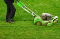 Mowing the grass - PhotoDune Item for Sale