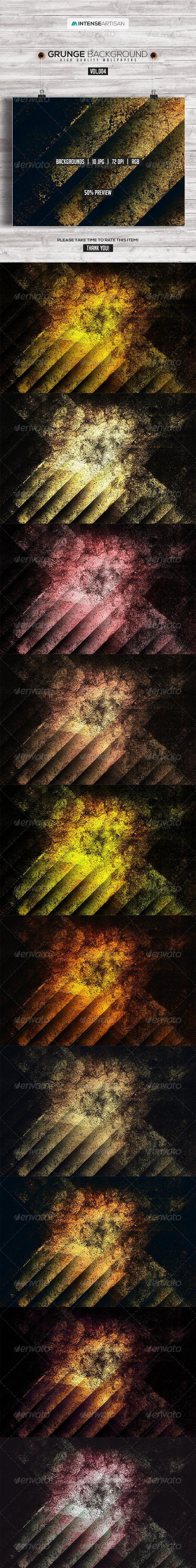GraphicRiver 10 Grunge Background Vol.4 8274948