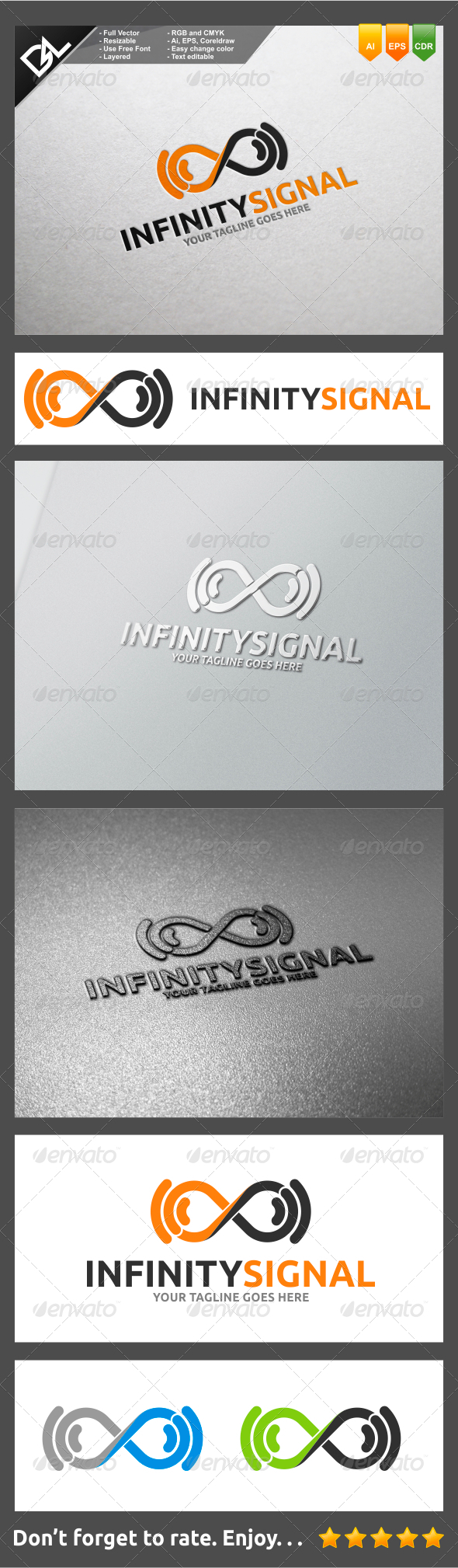 GraphicRiver Infinity Signal 8274962