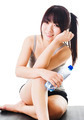 Chinese girl after a workout. - PhotoDune Item for Sale