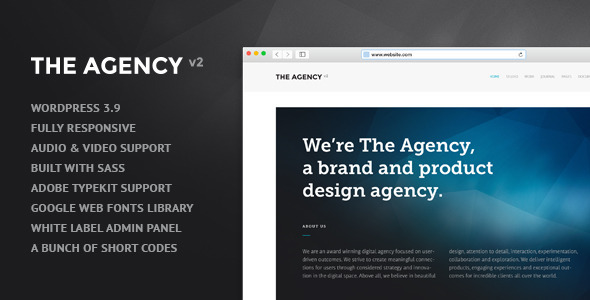 ThemeForest The Agency v2 WordPress Theme for Agencies 8275215