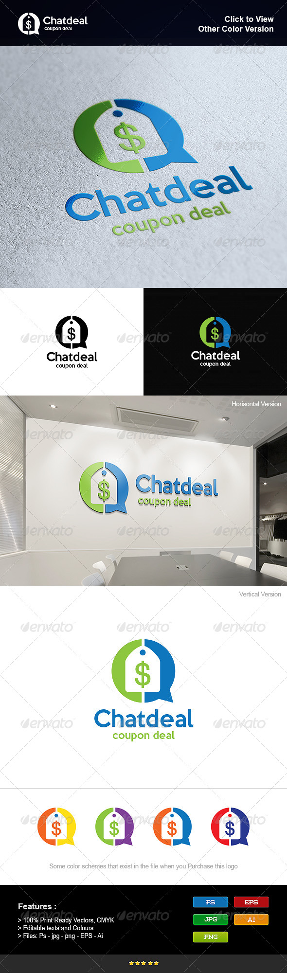 GraphicRiver Coupon Deal Chat 8275675