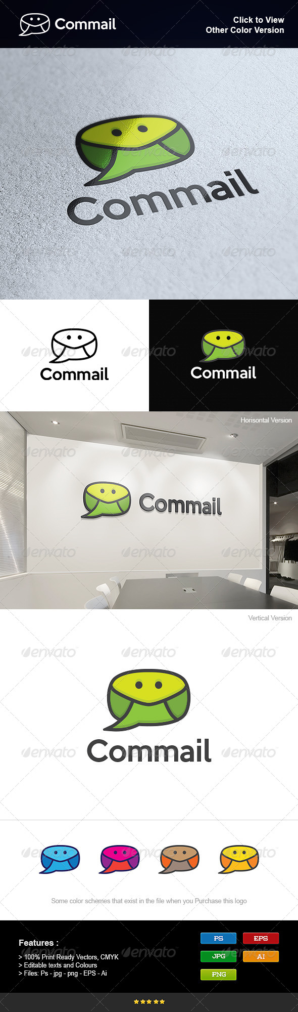GraphicRiver Mail Communications App 8275723