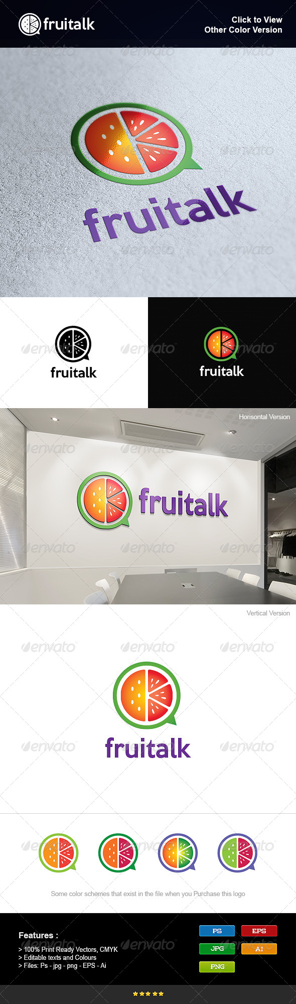GraphicRiver Fruit Talk 8275807