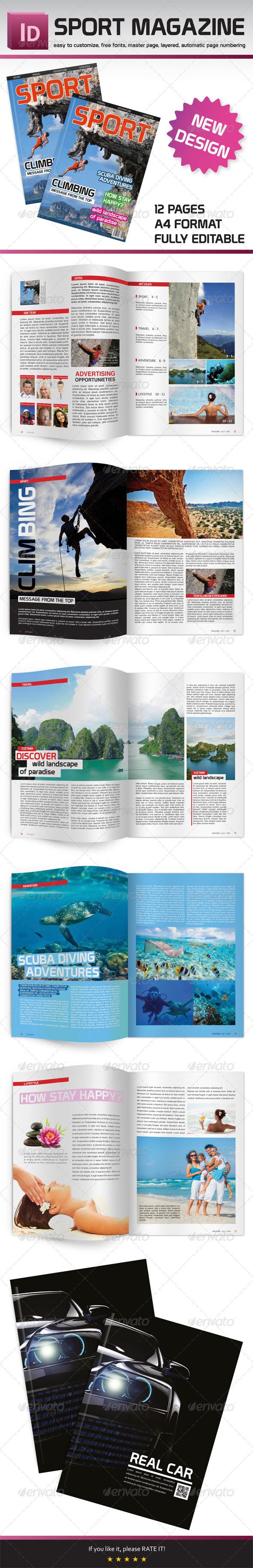 GraphicRiver Sport Magazine 8257753