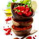 chili peppers with herbs and spices - PhotoDune Item for Sale