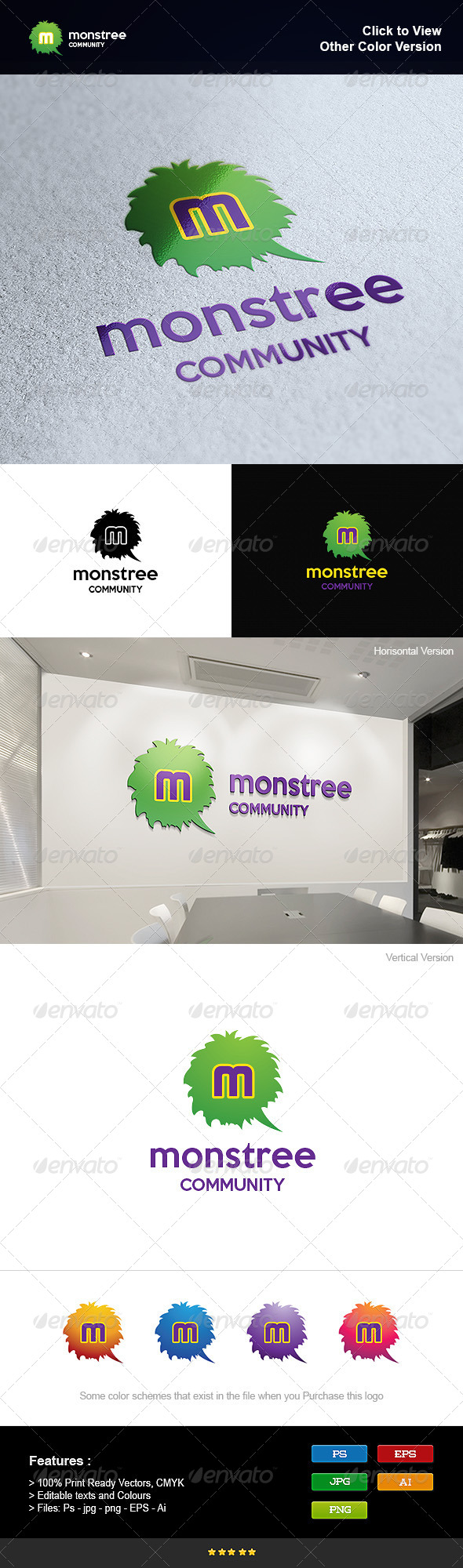 GraphicRiver Monster Tree 8275882
