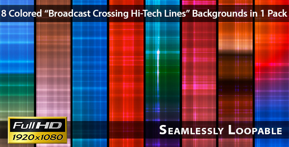 Broadcast Crossing Hi-Tech Lines Pack 03
