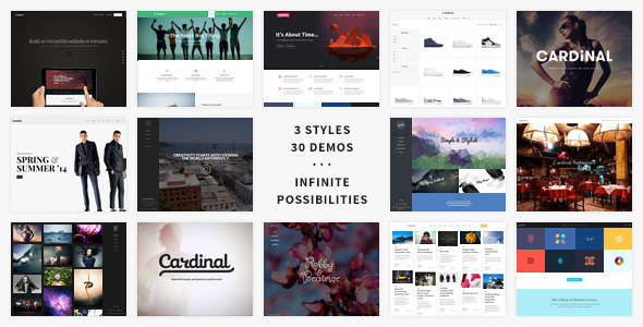 Cardinal - Creative WordPress