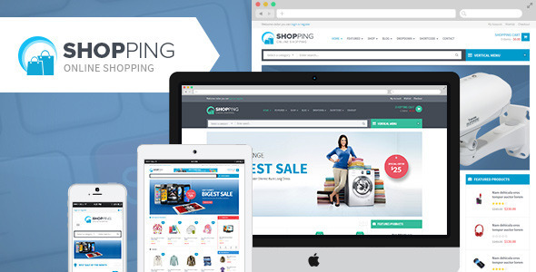 Shopping WooCommerce Responsive WordPress Theme - WooCommerce eCommerce