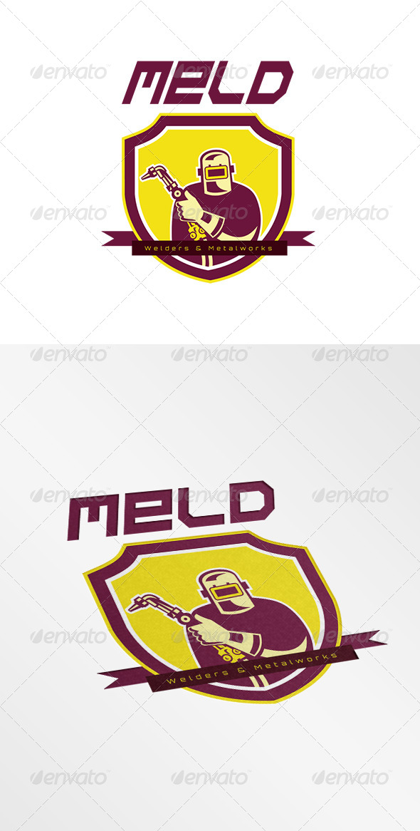 GraphicRiver Meld Welders and Metalworks Logo 8278938