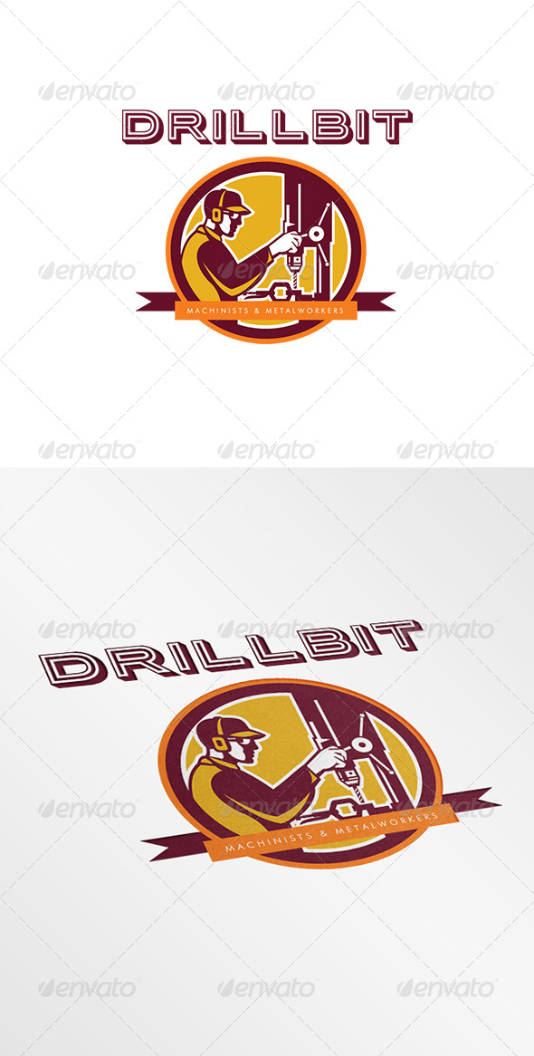 GraphicRiver Drillbit Metalworks Logo 8278939
