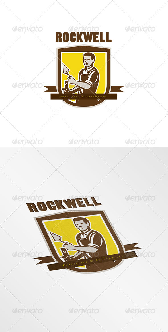 Rockwell Plasterers and Stonemasons Logo