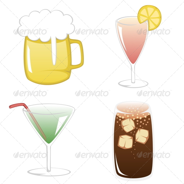 GraphicRiver Summertime Drinks 8257754