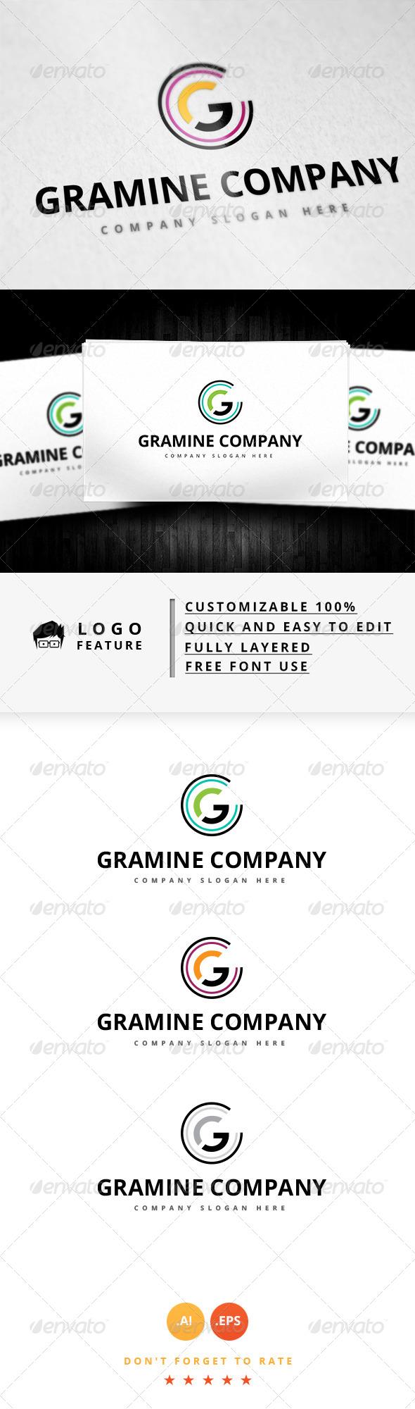 GraphicRiver Gramine Company Logo 8279011