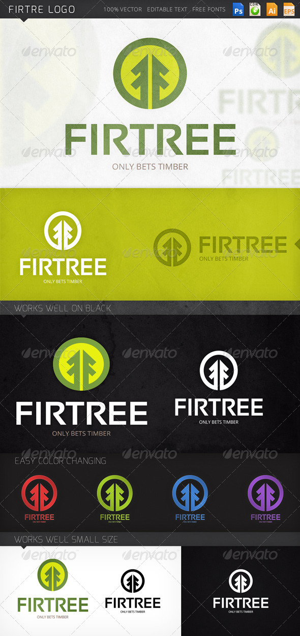 GraphicRiver Firtree Logo 8279023