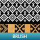 6 Mosaic Pattern Brush