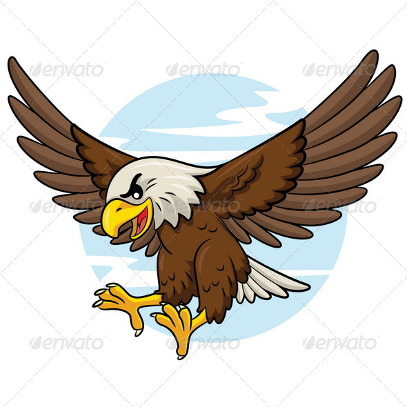 GraphicRiver Eagle Cartoon 8279025