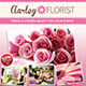 Flower Shop Flyer / Magazine Ad - GraphicRiver Item for Sale