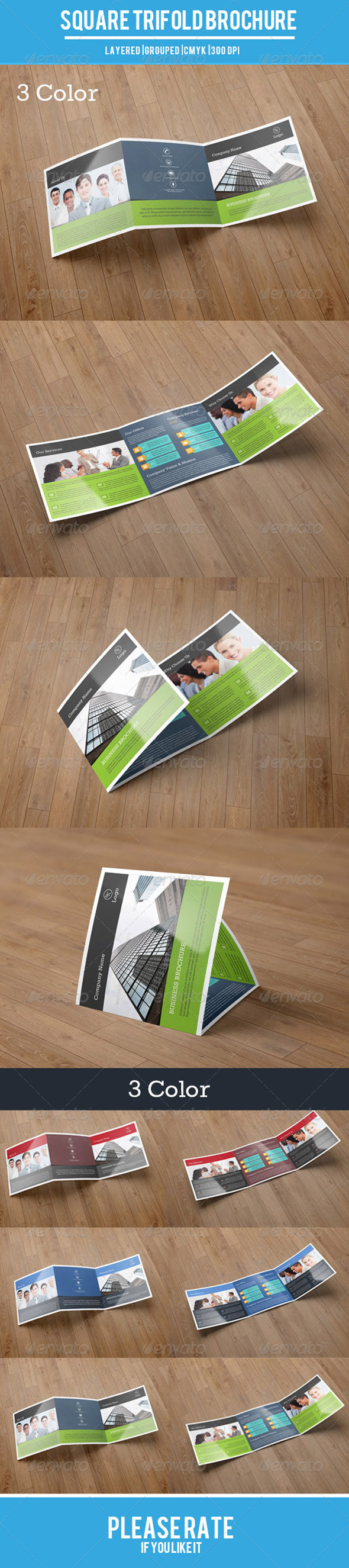 Square Trifold Business Brochure-V13