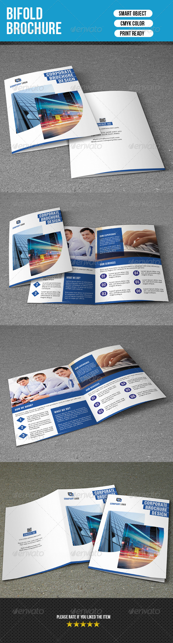 GraphicRiver Bifold Business Brochure-V92 8279140