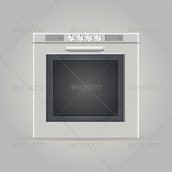 GraphicRiver Illustration of Oven 8279201