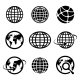 Icon Globes - GraphicRiver Item for Sale