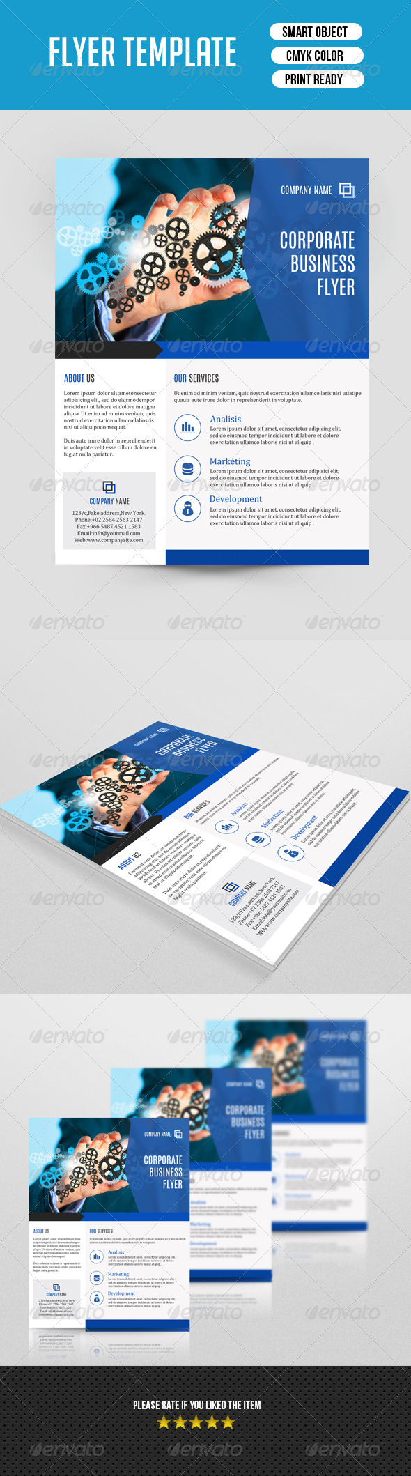 GraphicRiver Corporate Flyer Template-V83 8279355