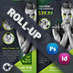 Fitness Salon Roll-Up Templates - GraphicRiver Item for Sale