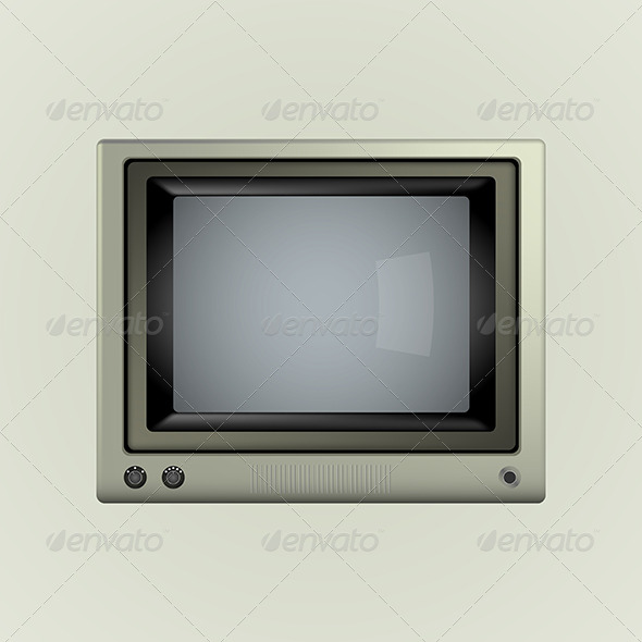 GraphicRiver Illustration of TV 8279644