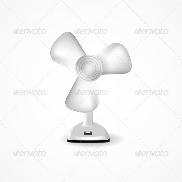 GraphicRiver Illustration of Fan 8279654