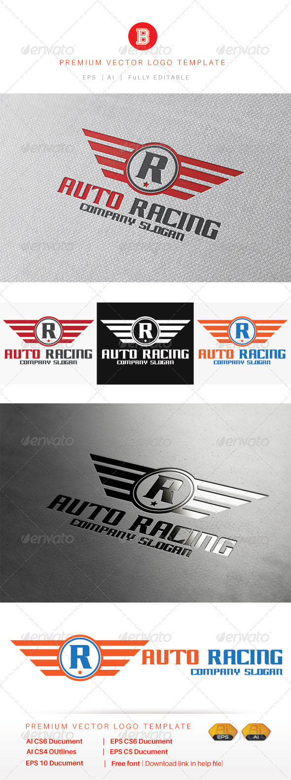 GraphicRiver Auto Racing 8280277