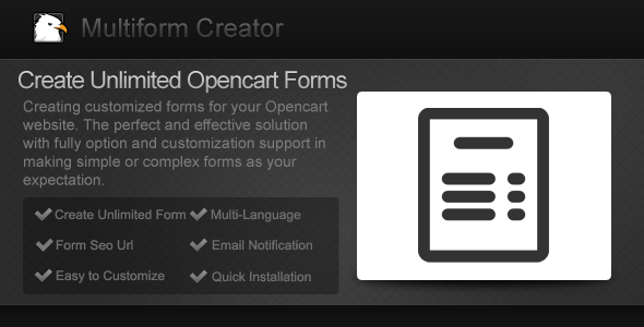 CodeCanyon Multiform Creator 8101859