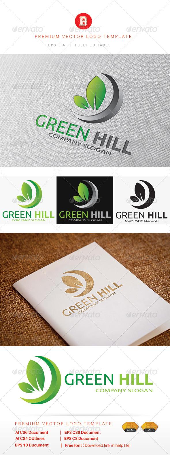 GraphicRiver Green Hill 8280514