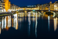 Ponte Vecchio in Florence at night, Italy - PhotoDune Item for Sale