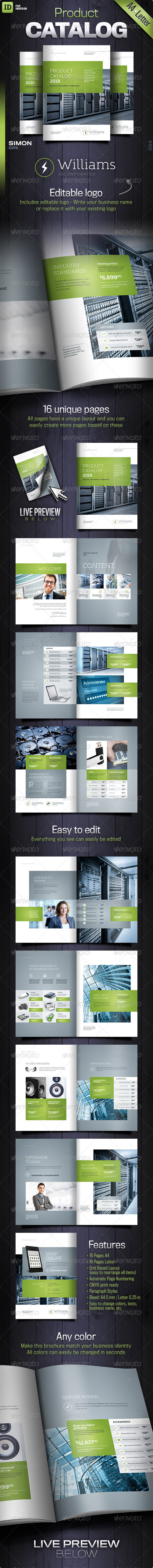 GraphicRiver Product Catalog Williams 8280732