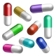 Set of Medical Capsules in Different Positions - GraphicRiver Item for Sale
