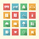 Flat Icons for Hotel - GraphicRiver Item for Sale
