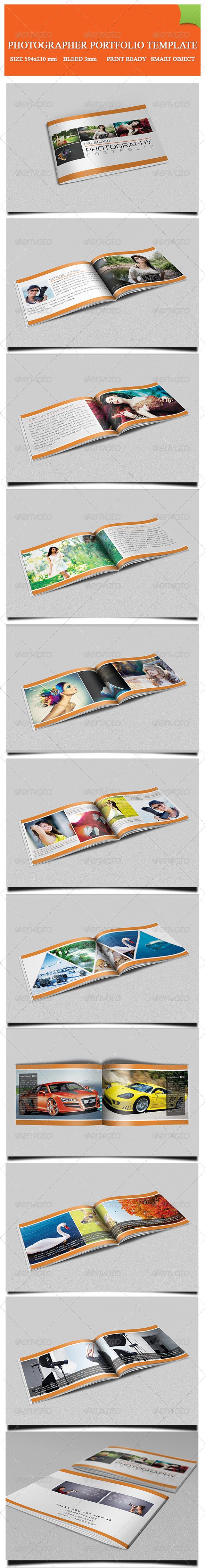 GraphicRiver Photography Portfolio Template 8280747