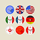 Icons for Clocks - GraphicRiver Item for Sale