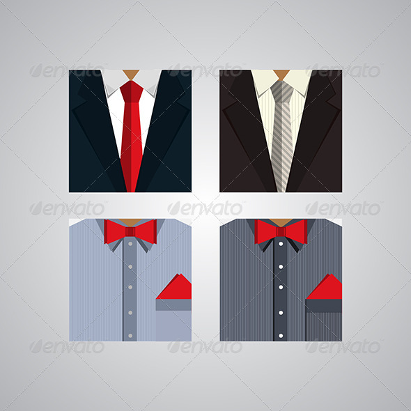 GraphicRiver Flat Icons for Formal Wear 8280763