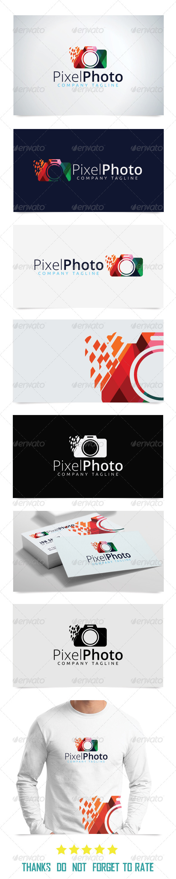 GraphicRiver Pixel Media Logo Template 8281055