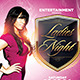 Ladies Night Pink Flyer Template - GraphicRiver Item for Sale
