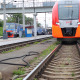 Russian Railways, Trains Arrives And Departs - VideoHive Item for Sale