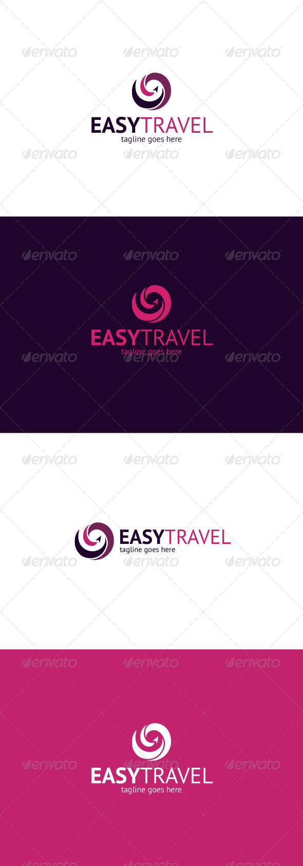 GraphicRiver Easy Travel Logo 8281454
